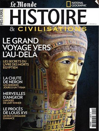 national geographic histoire devient histoire civilisations. Black Bedroom Furniture Sets. Home Design Ideas
