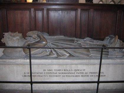 Grave of Rollo of Normandy