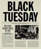 1929 black tuesday