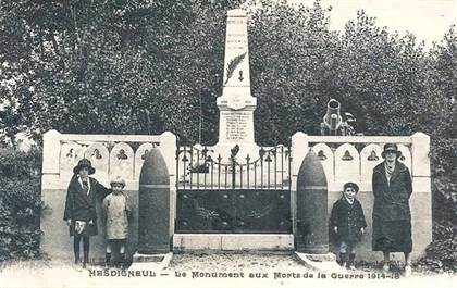 Hesdigneul monument aux morts 14 18