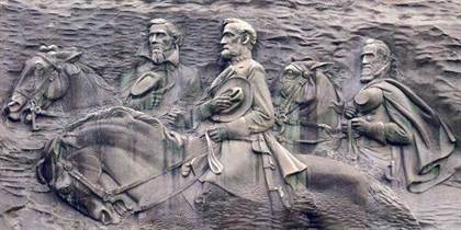 11 Stone Mountain Carving 2