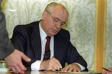 demission gorbatchev