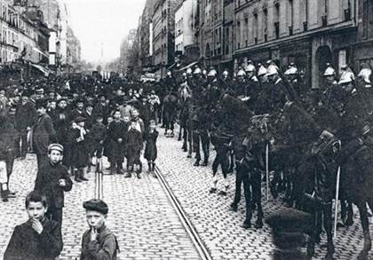 mouvement social paris 1906