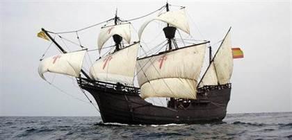 replica barco magellan