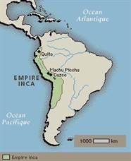 empire inca carte