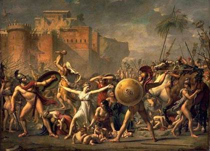 enlevement_des_sabines_jacques_louis_david_1799