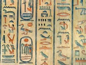 hieroglyphes egyptiens