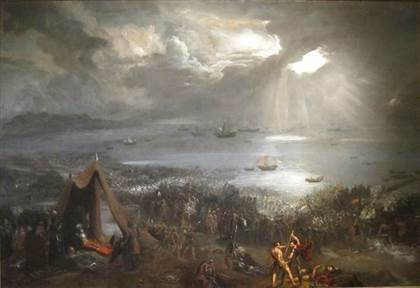 Bataille de Clontarf Hugh Frazer 1826 Isaacs Art Center