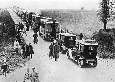 taxis marne 1914