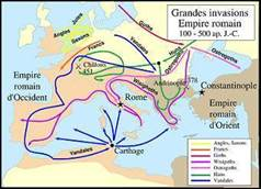 grandes invasions empire romain1