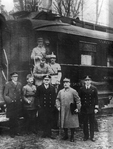 Armistice rethondes train