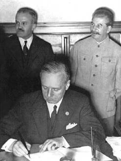 signature pacte germano sovietique