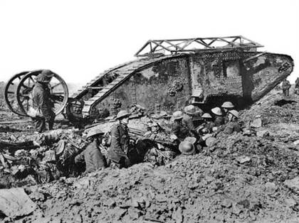 tank Somme 25 Septembre 1916