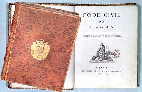 code civil 1804 napoleon