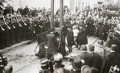 excecution guillotine 1907