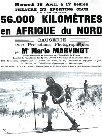 marie marvingt marche