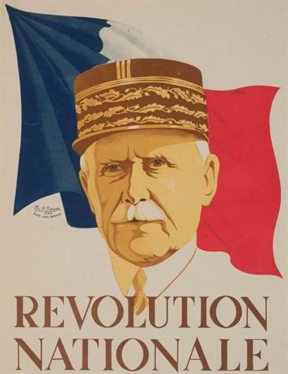 revolution nationale petain