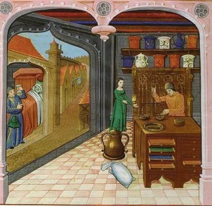 La médecine et les remèdes du Moyen Âge