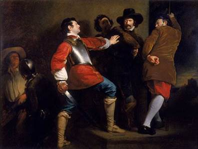 1b Discovery of the Gunpowder Plot c. 1823 Henry Perronet Briggs