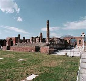 temple jupiter pompei